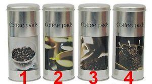 Boite à café en métal pour dosettes SENSEO ou autres