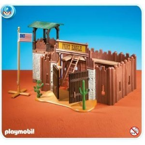 PLAYMOBIL WESTERN/ COWBOYS ET INDIENS/ LE FORT