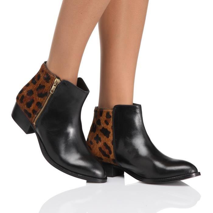 Chaussures femmes bottes Martin bottes plate, camel, 39