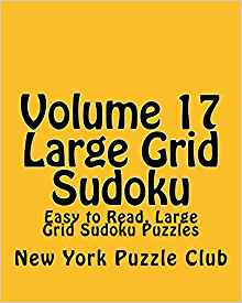 to Read, Large Grid Sudoku Puzzles New York Puzzle Club Livres