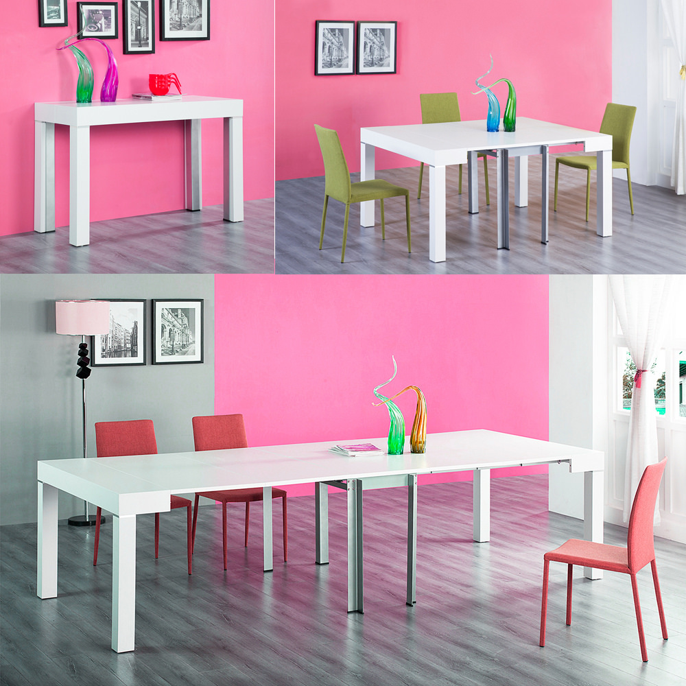 TABLE SALLE A MANGER CONSOLE EXTENSIBLE 3 METRES STACY NEUF