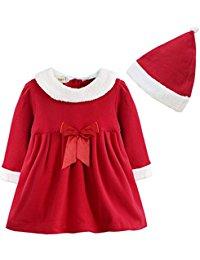 Robe Bébé Fille Costume & Chapeau Vêtement Enfant 12 Mois 3 Ans