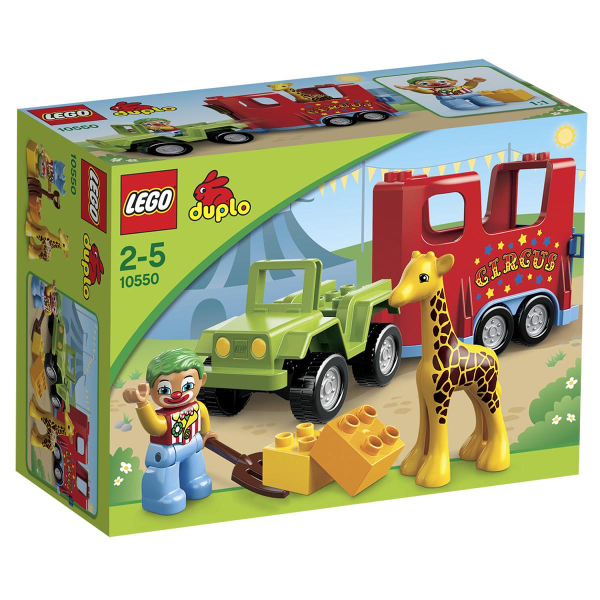 Lego 10550 Duplo : Le transport du cirque