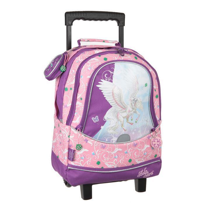 sac à dos roulettes 2 cpts foxgloves Rose Achat / Vente sac à dos