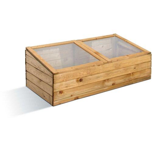 Jardipolys Petite serre de jardin en bois pas cher Achat / Vente