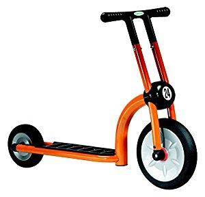 Trottinette 2 Roues 2/4ans Orange [Jouet]: Sports et