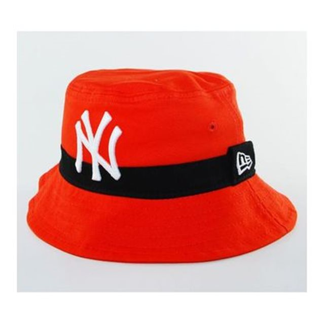 image Bob Enfant New Era Child New York Yankees Pop Bucket Orange NEW