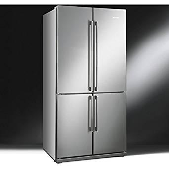 Smeg FQ60XP frigo américain (Autonome, Acier inoxydable, Américain