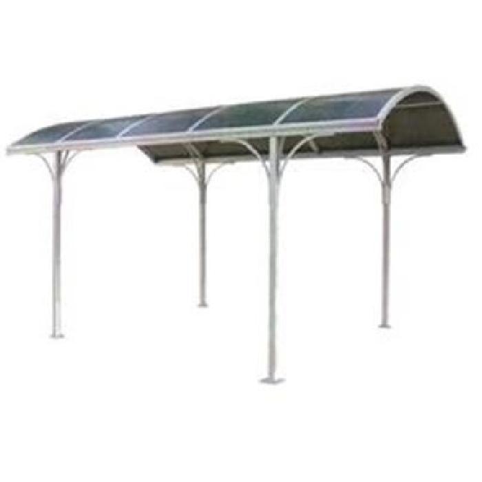 Carport Aluminium Avec Toit Rond 14,80 m2 Ce Carport Aluminium Avec