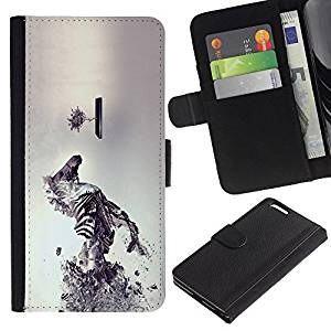 Planetar® Credit Card Slots PU Wallet Pouch Housse de protection Skin