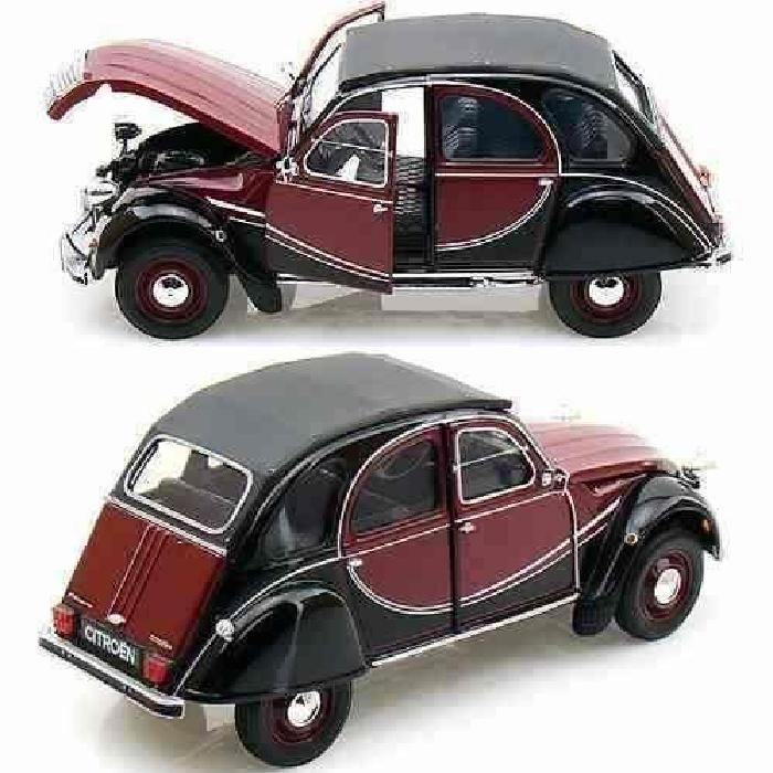 Citroen 2cv 6 Charleston 1/24 miniature de collection Welly Achat