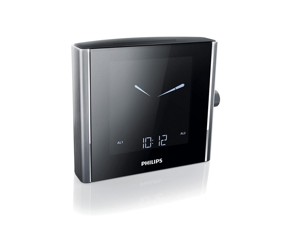 Philips AJ5000 Radio Réveil avec Tuner FM Numérique, Lumière d