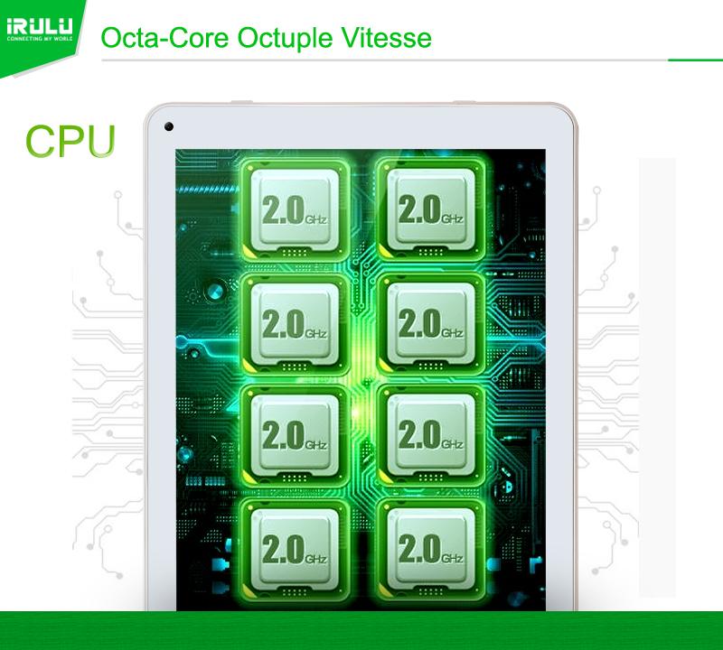iRULU Tablette Neuve 10.1″ Android 5.1 Lollipop Octa Core 16Go a