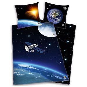 Espace Satellite Housse DE Couette Nouveau Système Solaire Enfants