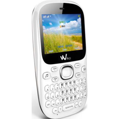 Téléphone portable WIKO Minz + blanc LS, Téléphone portable sur