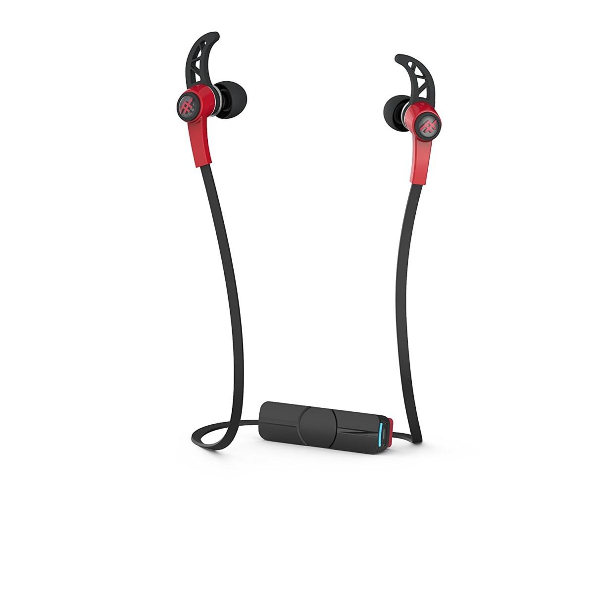 ifrogz Summit écouteur Binaural Bluetooth Noir Rouge casque et micro