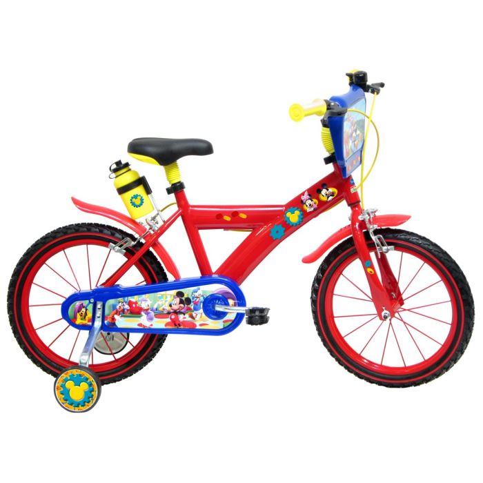 MICKEY Vélo 4/7 ans 16» Enfant Prix pas cher