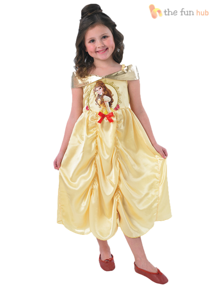 Licensed storytime disney princesses robe fantaisie