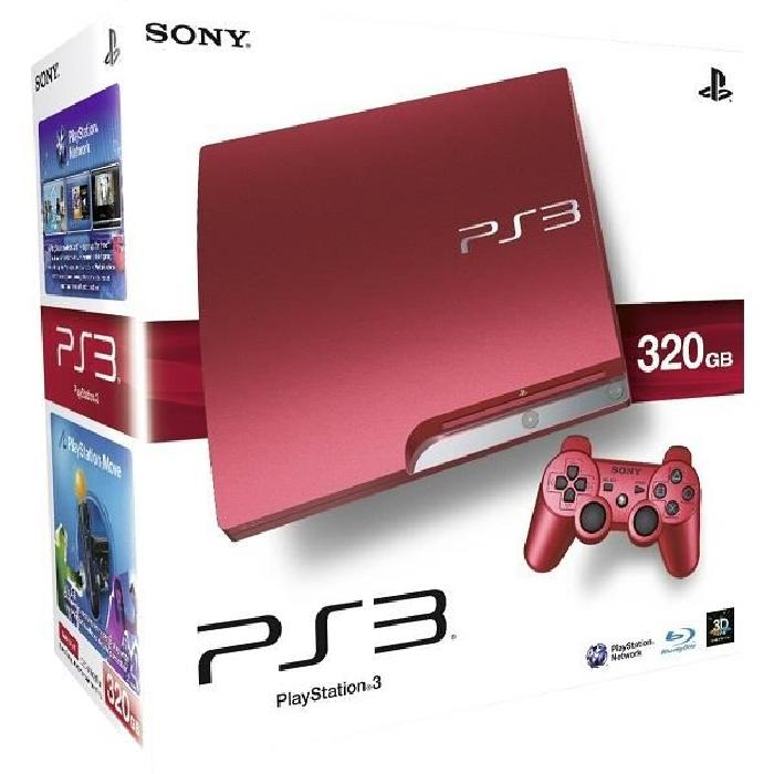 console ps3 slim rouge 320gb Achat / Vente console ps3 console ps3