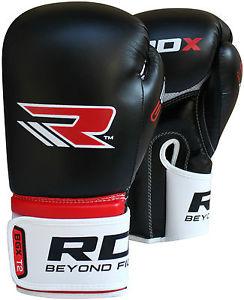 Rdx maya cacher cuir gants de Boxe Lutte Punch Sac MMA
