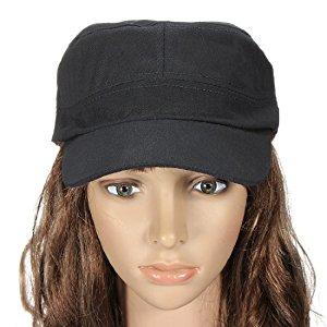 Casquette Chapeau Capeline Militaire Bonnet Baseball Reglable Femme