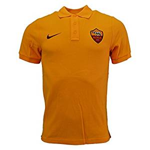 2015 2016 AS Roma Nike Core Polo Shirt (Orange): Sports et