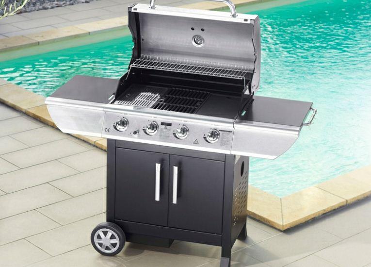 barbecue gaz grill et plancha topiwall. Black Bedroom Furniture Sets. Home Design Ideas