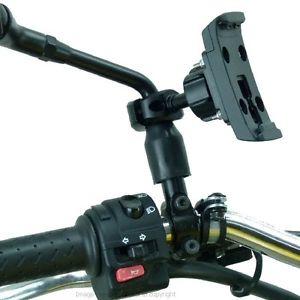 Moto Motocycle Miroir Tige GPS Montage pour Garmin Zumo
