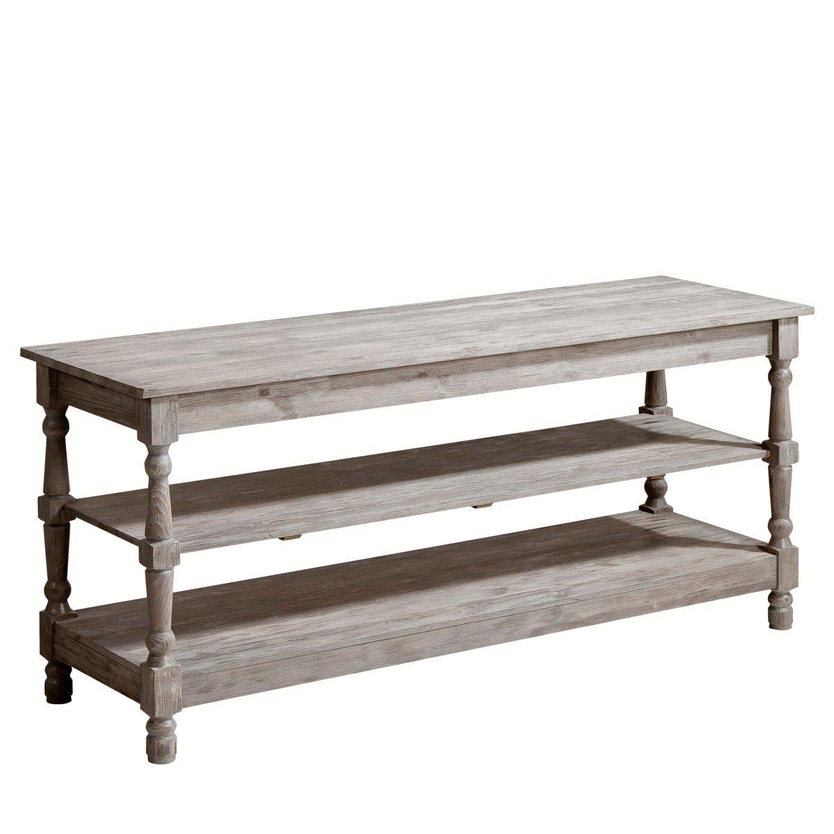 Table de drapier 1 étagère, agreste, 2 tailles Am.Pm