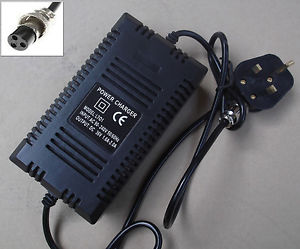 Chargeur de batterie 36V 1.6A vélo électrique scooter razor 36 volts