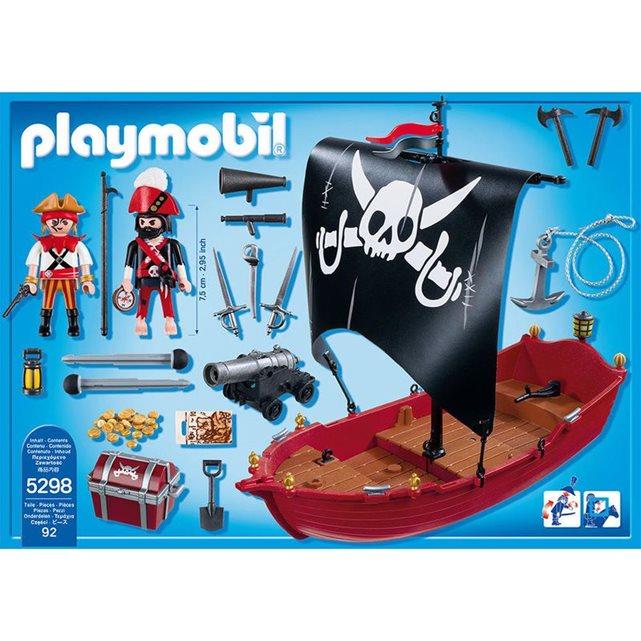 PLAYMOBIL Playmobil Pirates Chaloupe des corsaires PLA5298 | La