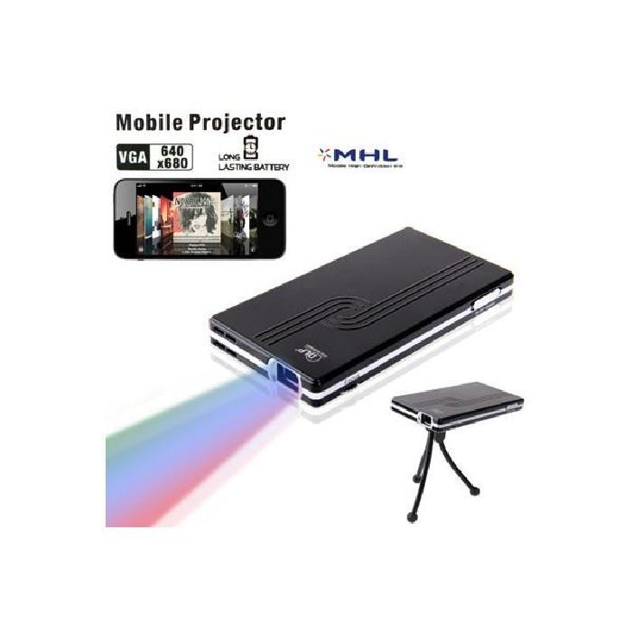 Mini Projecteur Portable à LED avec 1800mAh vidéoprojecteur, avis