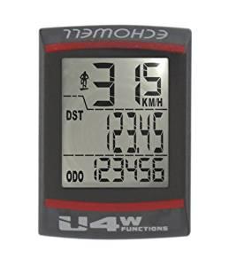Echowell U4W / 244630 Compteur de vélo Noir: Sports et