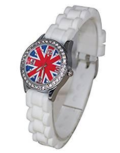 Montre Enfant Ado London Drapeau Anglais Union Jack