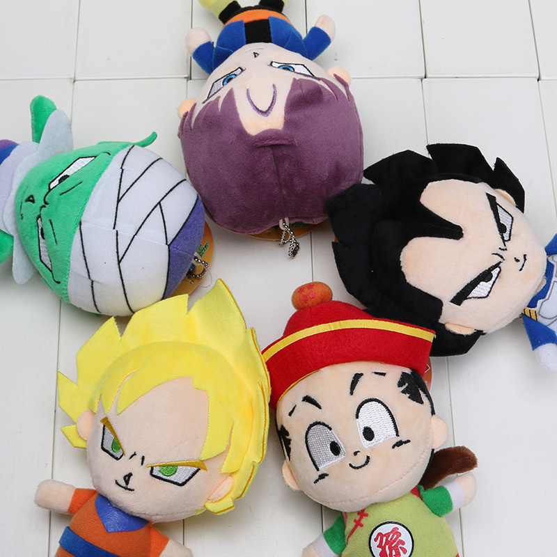 BALL Z PELUCHE GOKU VEGETA GOHAN TRUNKS JUNIOR 20CM PLUSH DRAGON BALL