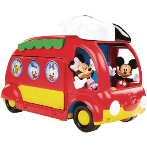 Price Mickey Cjd98 Figurine Animation Le Camping Car Surprises