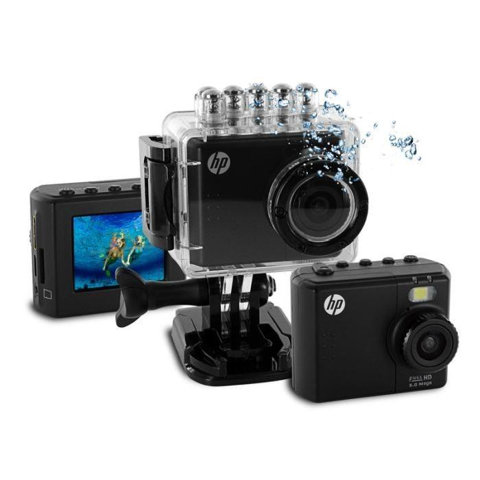hp ac 150 camera sport full hd caisson etanche