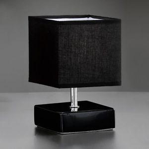 Lampe Chevet Noire Design Creapach
