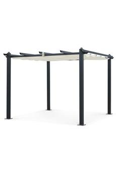 Tonnelle, pergola Tente de jardin, pergola aluminium 3x3m Condate