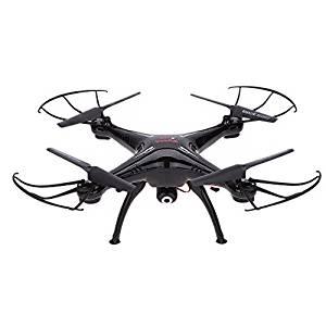 Drone Quadricoptère Quadcopter SYMA X5SC 1 NOIR avec CAMÉRA VIDÉO