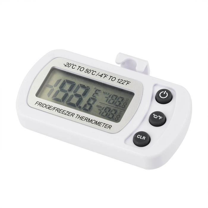 Réfrigérateur thermomètre Thermomètre Congélateur étanche sans