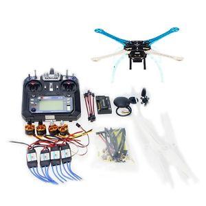DIY GPS Drone Multi Rotor Frame Kit S500 APM2 8 2 4G FS i6 Transmitter