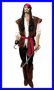 pirate des caraïbes veste sans manche déguisement pirate caraibes