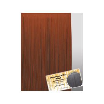 à fils lahore chocolat 60×120 cm Acheter au meilleur prix