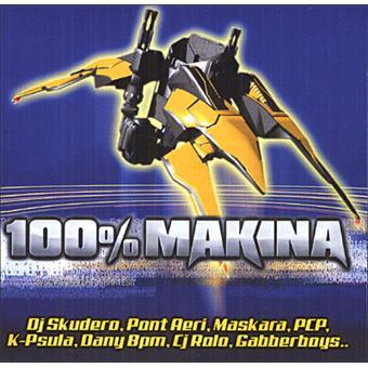 100 pour 100 makina Compilation techno CD album Achat & prix
