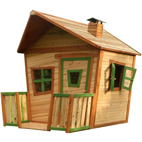 Maisonnette bois JESSE AXI pas cher à prix