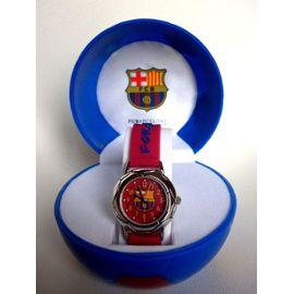 Montre Enfant Fc Barcelone Watch 3d Acier Logo Barça Fcb