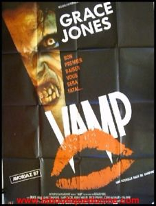 VAMP Affiche Cinéma / Movie Poster GRACE JONES HORREUR