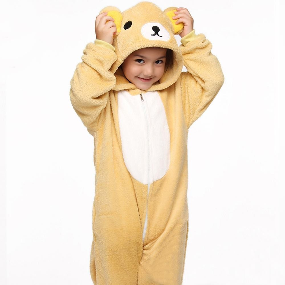 Unisex Enfants Enfants Kigurumi Cosplay Costume animal Onesies Pyjamas