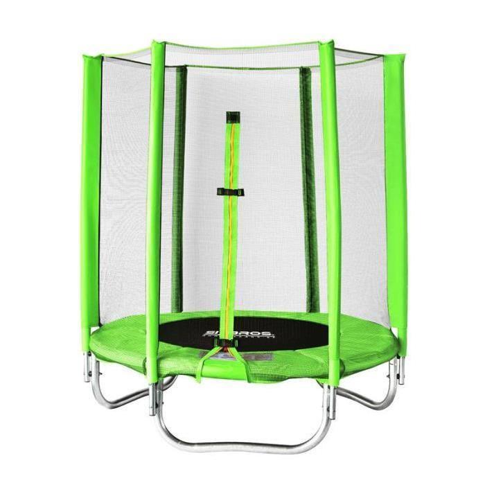 enfant 140 cm Achat / Vente trampoline Trampoline vert pour enfant